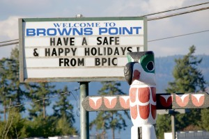 Browns Point Totem Pole
